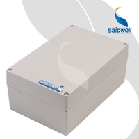 SAIPWELL New 200*130*88mm Outdoor IP66 Electrical Extruded Aluminium Box