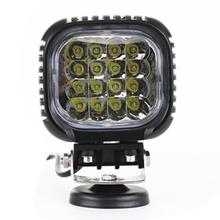 48W LED Spot/Flood Work Light Off Road Spotlight 4x4 -Jeep Cabin, Boat, 4WD, SUV, Truck Tractor, Car, ATV UTV Square Work Light