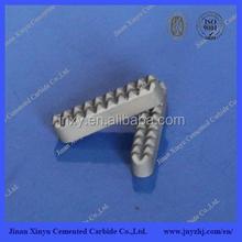 Carburo de tungsteno pinza mandíbula de inserción para soporte de la aguja