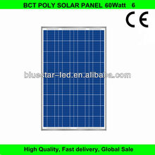High efficiency 60w mono solar panel