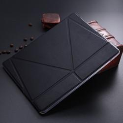 LETSVIEW Luxury Genuine Original Slim Smart Magnetic Leather Case+ Soft Back Case Cover For APPLE iPad Air 4/3/2 Mini TPU PC