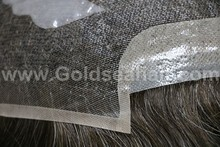 toupee for men natural looking invisible hairline men's wig