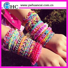 colorful loom rubber bands made in china&loom rubber bands and bracelet&high quality loom rubber bands