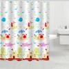 Cartoon ocean Printed Polyester Fabric Bathroom Shower Curtain home textile