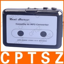 Convenient Cassette Tape to MP3 TF Flash-drive Hot Swapping Converter EC007B