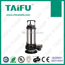 QDX 2015 TAIFU new stainless steel 1hp electric 0.75hp submersible water pump stainless steel