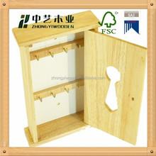 Custom decorative wholesale wooden wall hanging key box