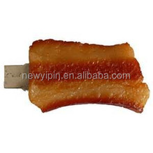 bacon shape pvc usb drive hotsales usb disk promotion gift