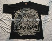 2012 hot design Men's 100% cotton knitted T-shirts