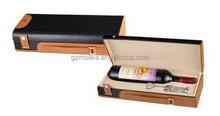 Most popular promotional leather wine gift box packaging