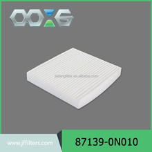 OE 87139-0N010 cool air intake system cabin air filter location