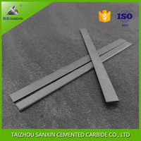 k10/yg6 tungsten carbide cutting tools for metal and wood working cemented carbide strips