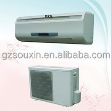 high quality 18000btu hotel use wall split type air conditioners price (5 years warranty)