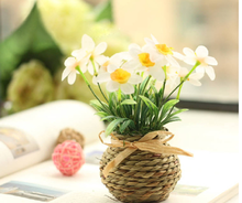 beautiful and small style glass rope home decoration lavender potting culture