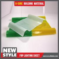 goog lasting color sell used greenhouse FRP lighting sheet