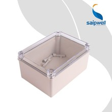 Saipwell Electric Box New Din Rail Enclosure Made in China IP66 CE Certificated Clear Waterproof Box