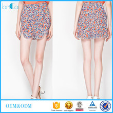 2015 Newest Casual Sweet floral Passion Flower Shorts for women