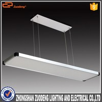 trading business ideas led 40w sliver suspended kitchen ceiling lamps