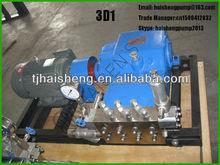3D1 HIgh Pressure Triplex Plunger Pump with CE Certificate