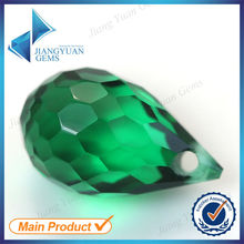 China supplier water drop wholesale glass gems