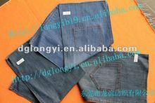 new hot sale pure 100 cotton denim fabric jeans fashion in 2012