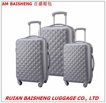 abs high quality hard shell trolley cases/suitcase/travel bags/luggage BS190