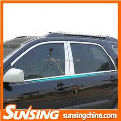 New Car window decorative strips apply to kia sportage body kit
