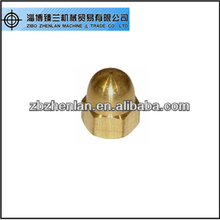 DIN1587 brass/ copper hexagon domed cap nuts/ hex cap nuts