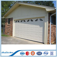 Automatic sectional panel door   Underground used high quality garage