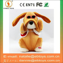 B/O plush dog toys newest dancing dog toy for sale