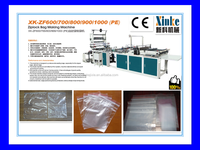 Good quality XK-ZF800 Zipper Closure Bag Making Machine