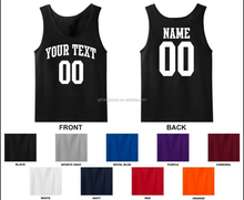 Custom Personalized Name & Number Tank Top Jersey T-shirt custom tank top
