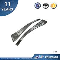 High Quality Aluminium Alloy Rear Bumper inside Footplate for 2013+ Toyota RAV4 rear bumper inside foot steps