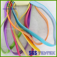 Flat Elastic hair band price, extension hair with rubber band