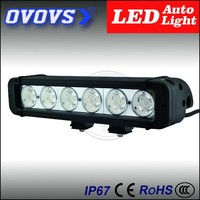 OVOVS best selling automotive led light cover,60w single row LED light bar with trade assurance
