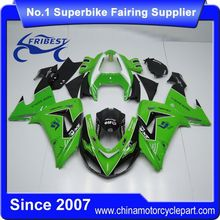 FFKKA012 Motorcycle ABS Fairing Kit For ZX10R ZX 10R 2006 2007 Green