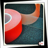 Double Adhesive Transparent PET Film Tapes With ISO SGS Certifications