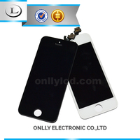 cheap cell phone parts for iphone 5 screen with touch