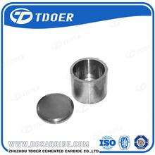 Zhuzhou top ranking 150ml cemented carbide grinding jar with standard export quality