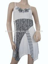 2012 fashion laides knit joining dress