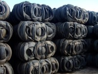 BHN1049D1511 Scrap Tyres Bales & Shred 1000 MT scrap tires for sale