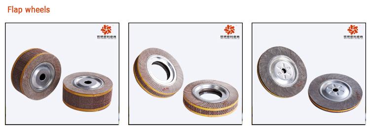 Oxyde d 39 aluminium flap wheel pour broyage en acier m tal et tuyaux en acier inoxydable outils d - Faire briller aluminium oxyde ...