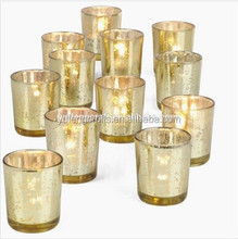 candlestick mercury gold candle jars wholesale