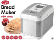 Bread Maker /stainless steel Home Electric Bread Maker capacity 1ur Programmable Timer/Measuring Cup and Spoon.5LB-2L/ 13ho