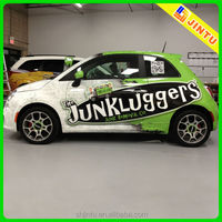 Removable car side vinyl window advertising sticker decal