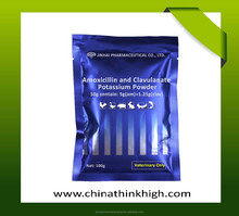 Amoxicillin and Clavulanate Potassium powder for animal Amide antibiotics, anti sensitive infection disease