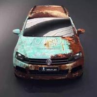Top quality Rust vinyl full car body wrap film 2015 new vinil foil RUST car sticker