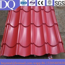 light weight corrugated steel stone coated metal roofing tile of construction roof material