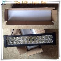 one direction hot sale led light cree flood spot double row bar