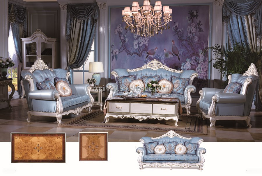 Dubai living room sofa set villa living sofa furniture Living room furniture for sale in dubai